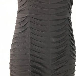 Adrianna Papell Dresses - Adrianna Papell Black Pleated Cocktail Dress 4